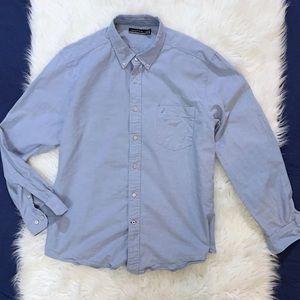 Nautica LS Button Down Casual Dress Shirt Men's XL
